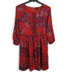 Lucky Brand Medium 3/4 Sleeve Dress